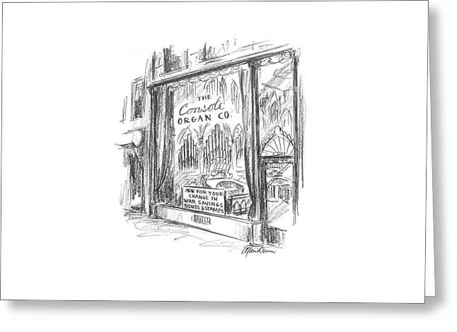 New Yorker May 16th, 1942 Greeting Card