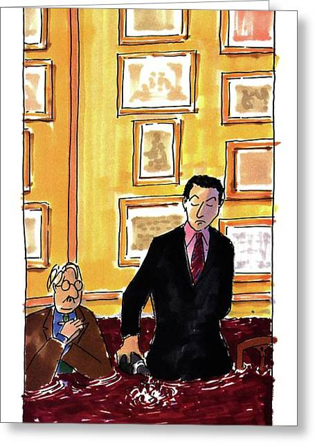 New Yorker May 16th, 1994 Greeting Card by Michael Crawford