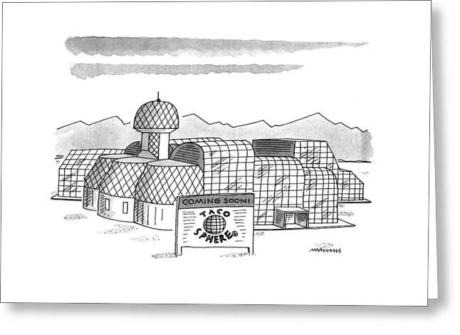New Yorker May 16th, 1994 Greeting Card