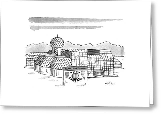 New Yorker May 16th, 1994 Greeting Card by Mick Stevens