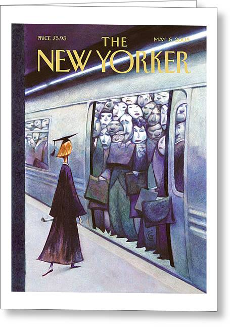 New Yorker May 16th, 2005 Greeting Card