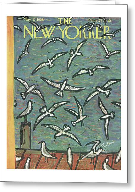 New Yorker May 17th, 1958 Greeting Card