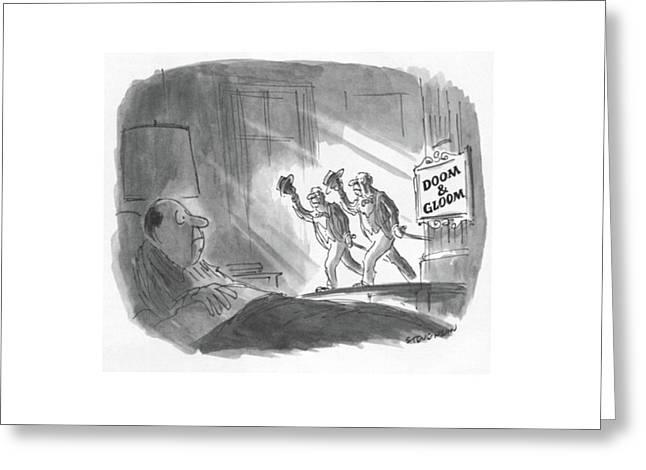 New Yorker May 17th, 1982 Greeting Card