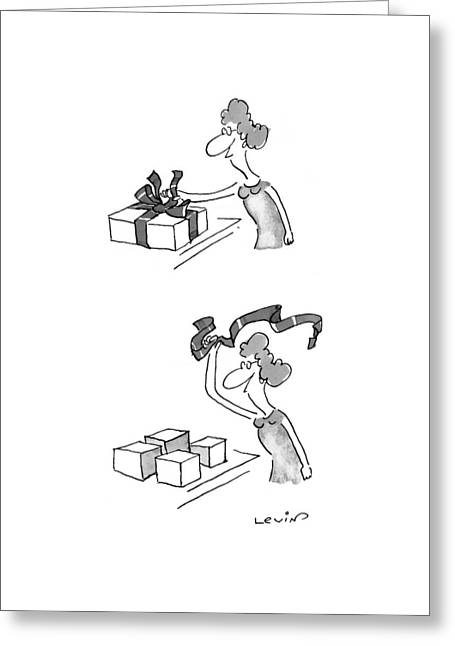 New Yorker May 17th, 1999 Greeting Card by Arnie Levin