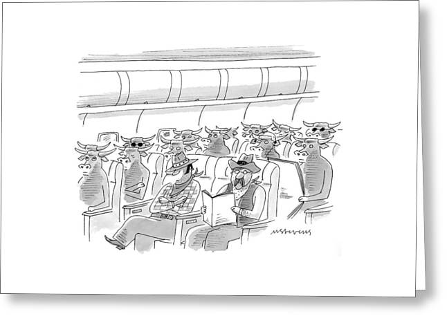 New Yorker May 17th, 1999 Greeting Card by Mick Stevens