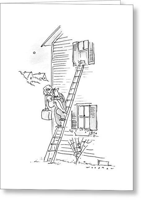 New Yorker May 18th, 1987 Greeting Card