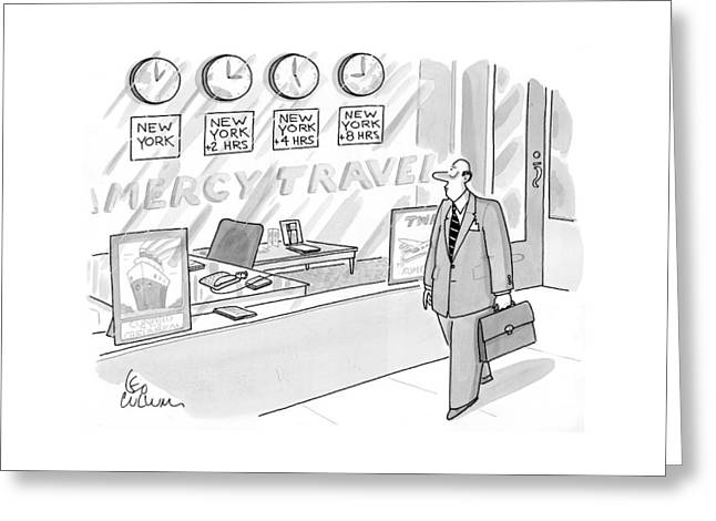 New Yorker May 18th, 1998 Greeting Card