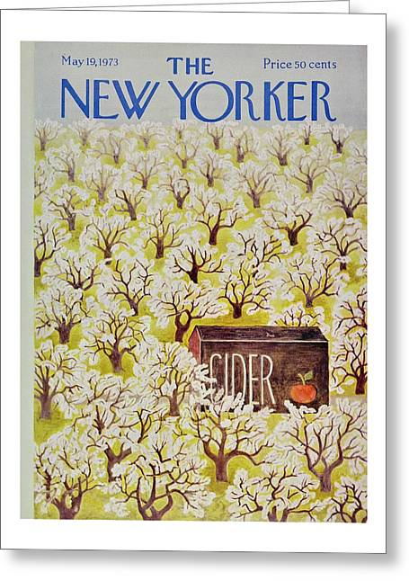 New Yorker May 19th 1973 Greeting Card