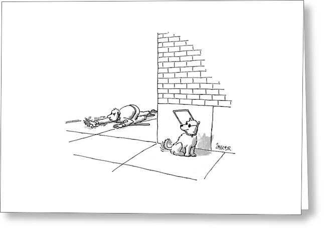 New Yorker May 19th, 1997 Greeting Card by Jack Ziegler