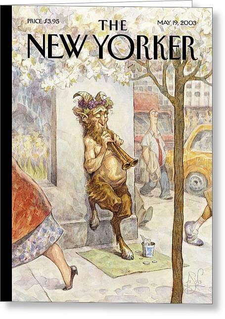 New Yorker May 19th, 2003 Greeting Card