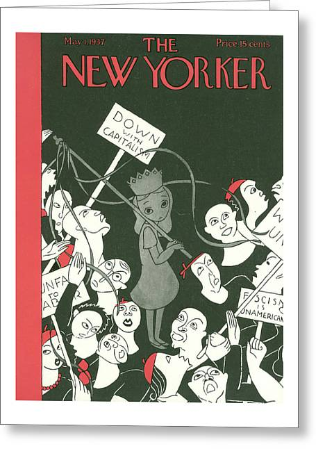 New Yorker May 1st, 1937 Greeting Card