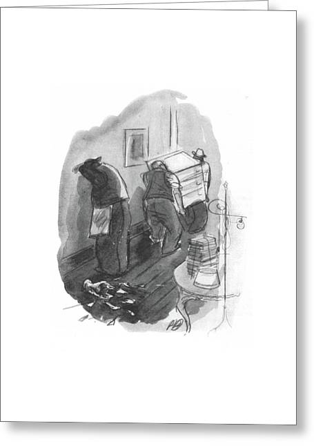New Yorker May 1st, 1943 Greeting Card