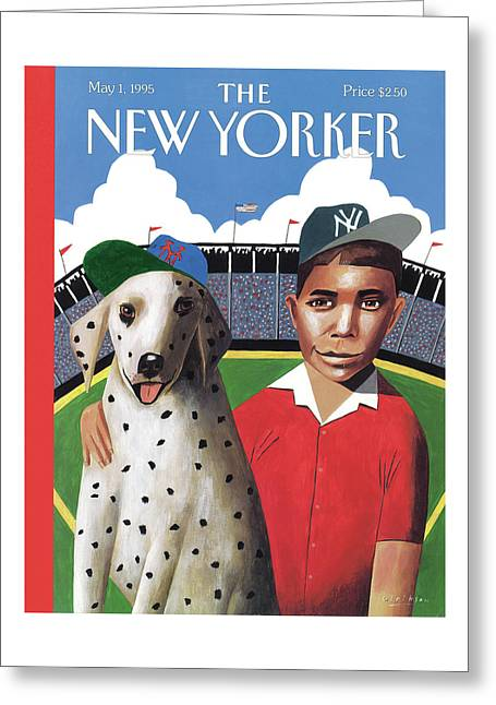 New Yorker May 1st, 1995 Greeting Card