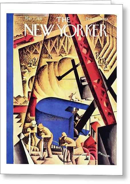 New Yorker May 2 1931 Greeting Card
