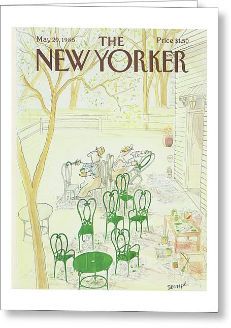 New Yorker May 20th, 1985 Greeting Card