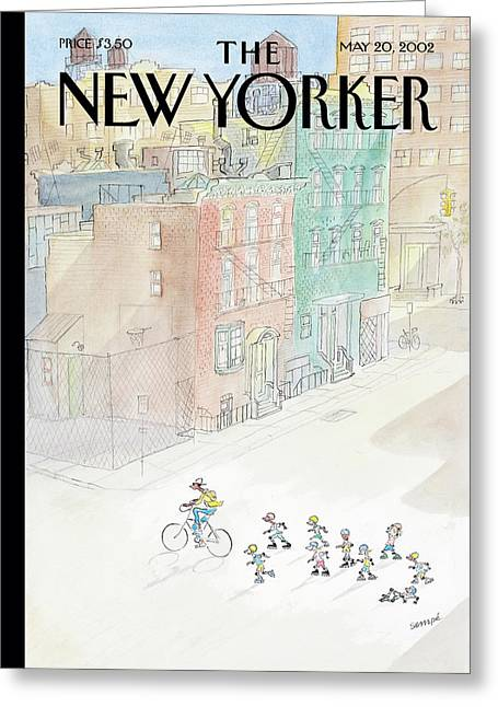 New Yorker May 20th, 2002 Greeting Card
