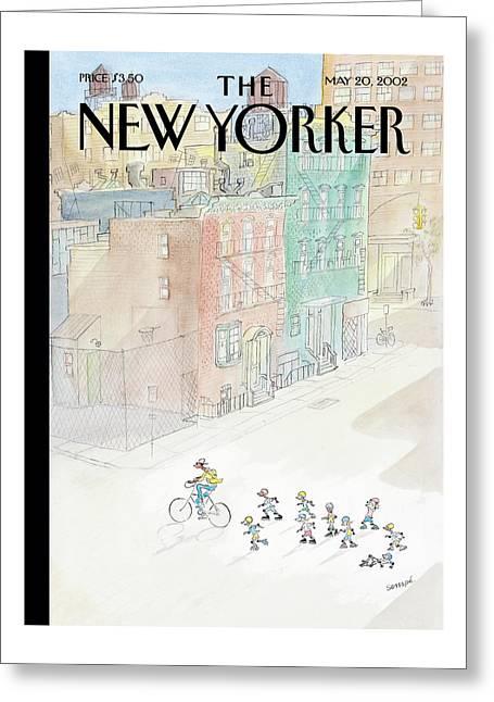 New Yorker May 20th, 2002 Greeting Card