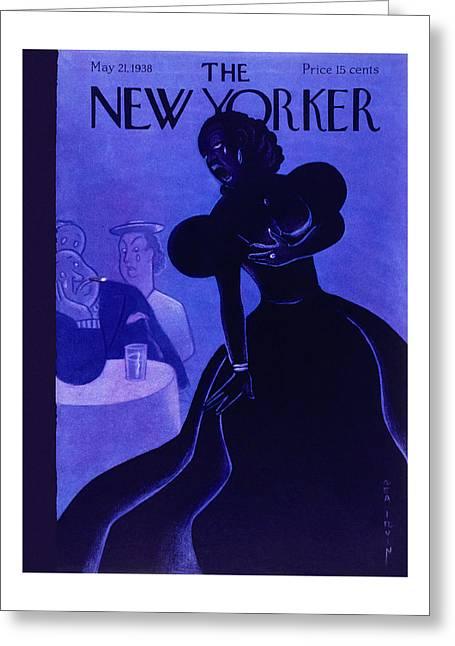 New Yorker May 21 1938 Greeting Card