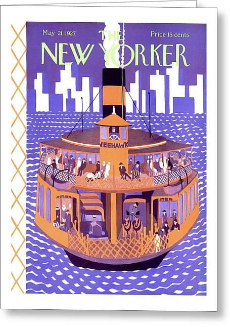 New Yorker May 21st, 1927 Greeting Card