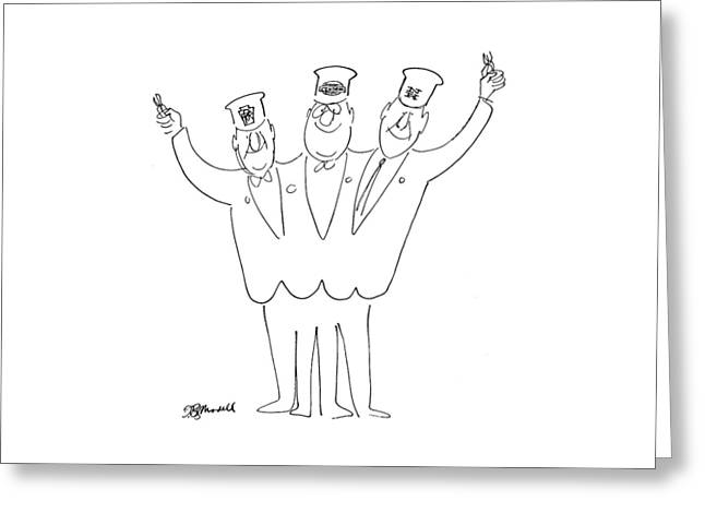 New Yorker May 21st, 1966 Greeting Card