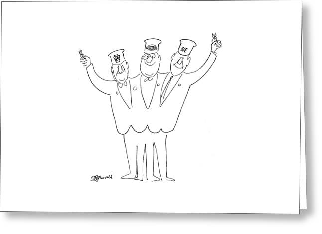 New Yorker May 21st, 1966 Greeting Card by Frank Modell