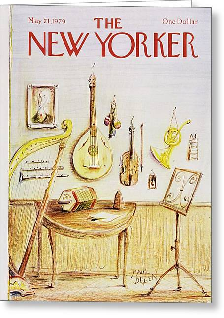 New Yorker May 21st 1979 Greeting Card by Paul Degen
