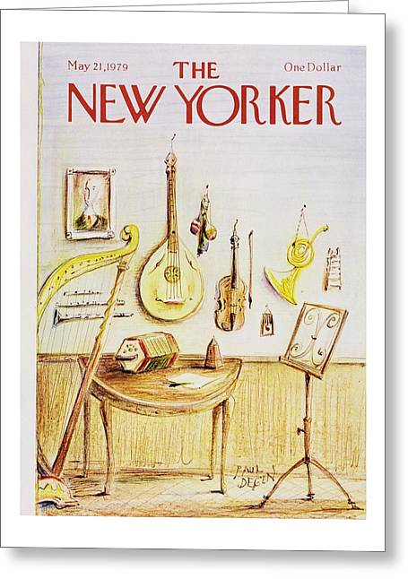 New Yorker May 21st 1979 Greeting Card