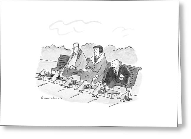 New Yorker May 21st, 1990 Greeting Card by Danny Shanahan