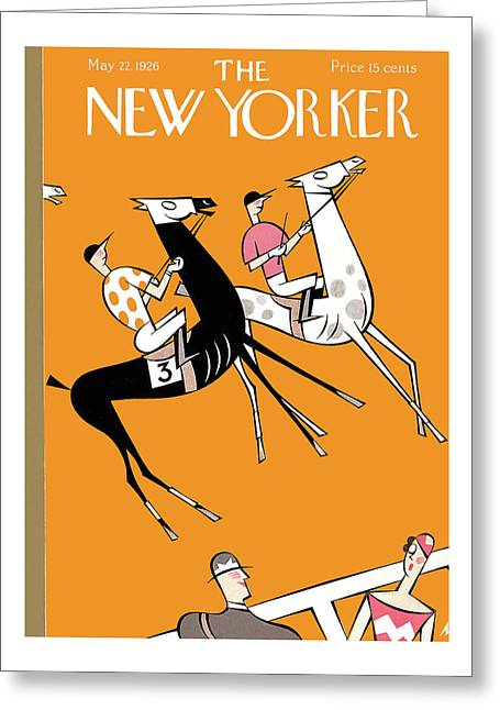 New Yorker May 22nd, 1926 Greeting Card