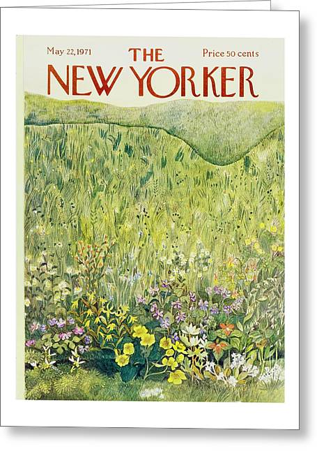 New Yorker May 22nd 1971 Greeting Card
