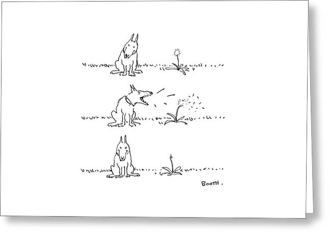 New Yorker May 22nd, 1978 Greeting Card by George Booth