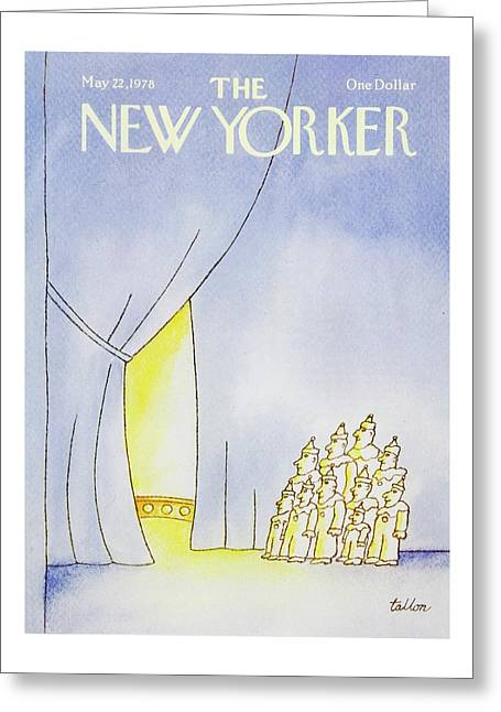 New Yorker May 22nd 1978 Greeting Card