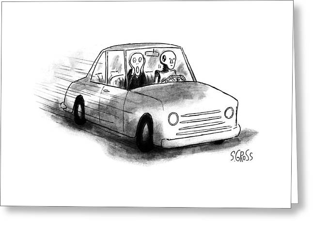 New Yorker May 22nd, 1995 Greeting Card