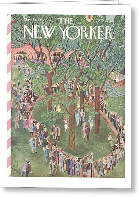 New Yorker May 23rd, 1942 Greeting Card