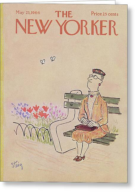 New Yorker May 23rd, 1964 Greeting Card by William Steig