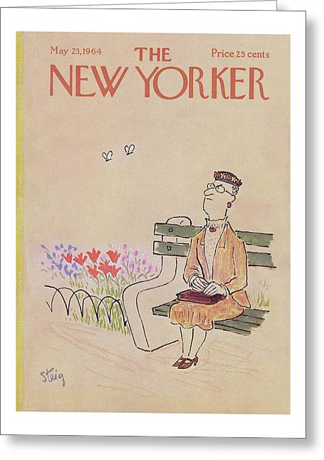 New Yorker May 23rd, 1964 Greeting Card