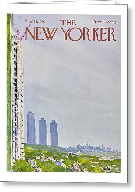 New Yorker May 23rd 1970 Greeting Card