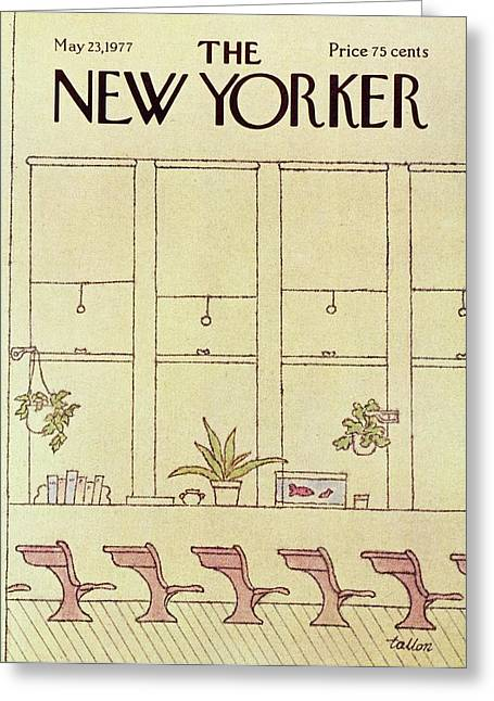 New Yorker May 23rd 1977 Greeting Card