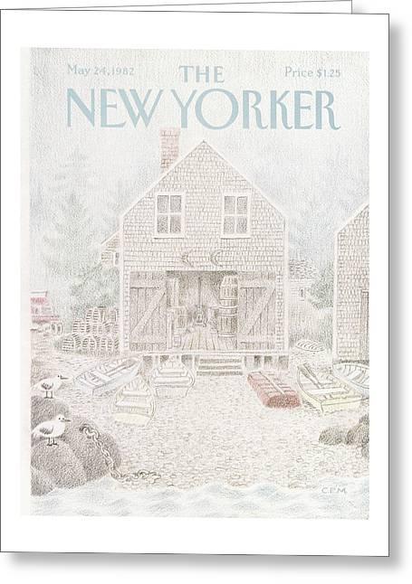New Yorker May 24th, 1982 Greeting Card