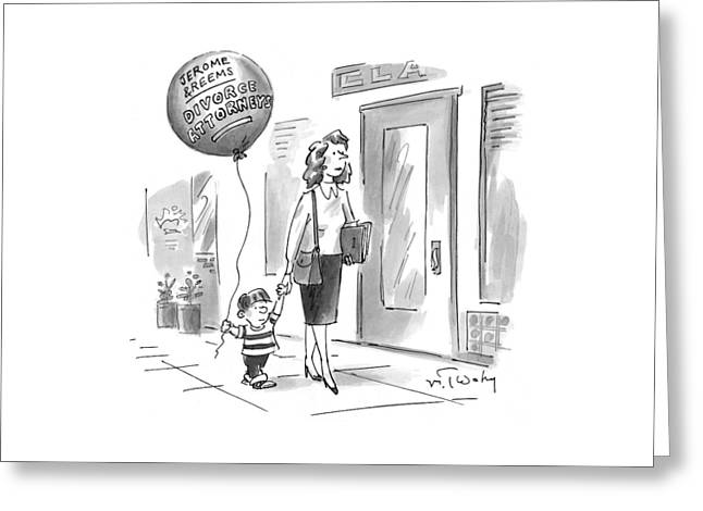 New Yorker May 24th, 1999 Greeting Card
