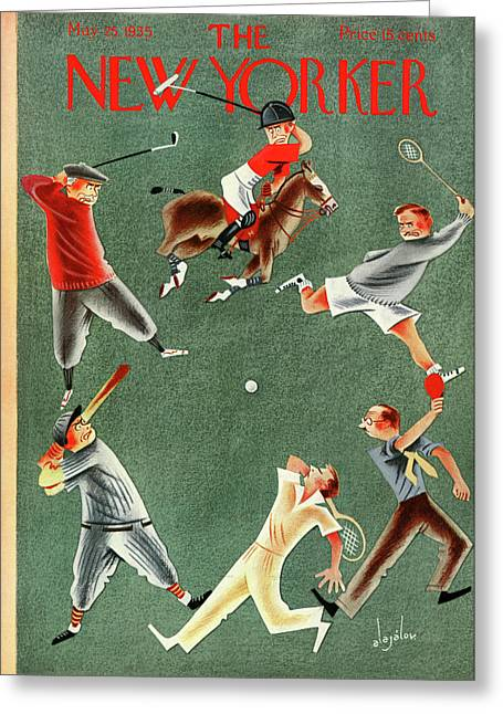 New Yorker May 25th, 1935 Greeting Card
