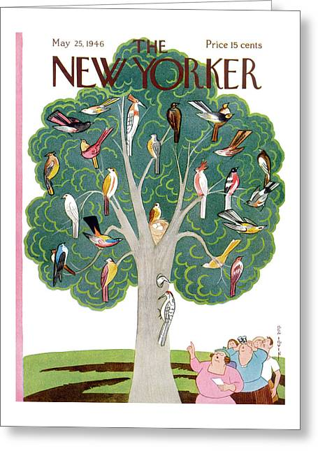 New Yorker May 25th, 1946 Greeting Card