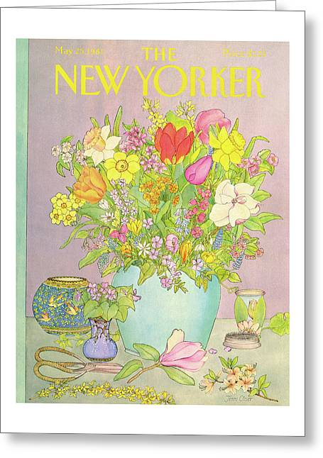 New Yorker May 25th, 1981 Greeting Card