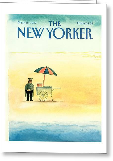 New Yorker May 25th, 1987 Greeting Card
