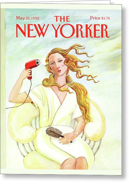 New Yorker May 25th, 1992 Greeting Card by Susan Davis