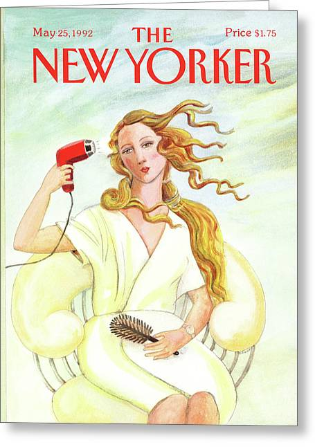 New Yorker May 25th, 1992 Greeting Card