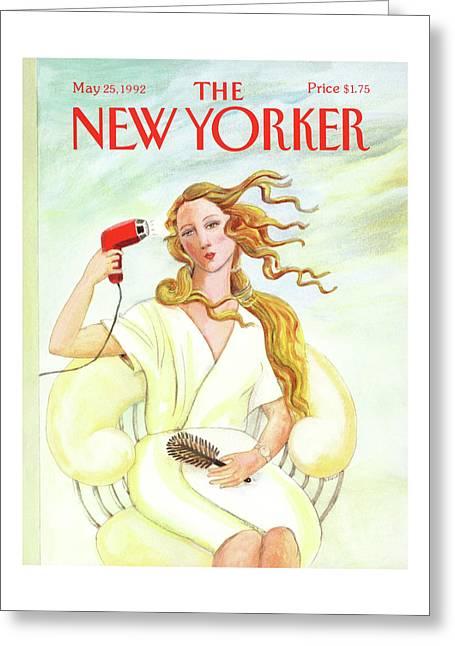 New Yorker May 25th, 1992 Greeting Card