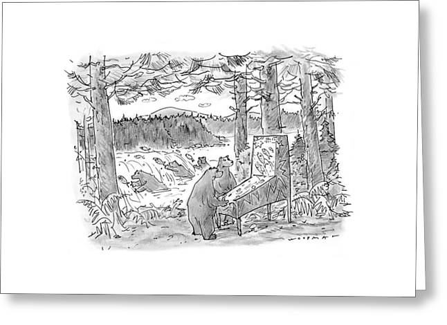 New Yorker May 25th, 1998 Greeting Card by Bill Woodman