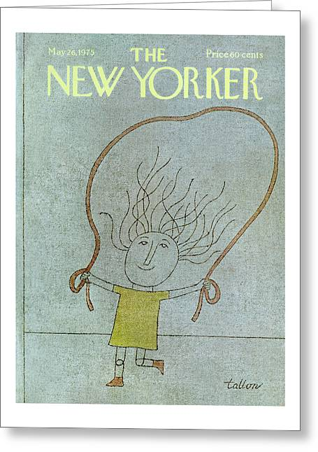 New Yorker May 26th, 1975 Greeting Card