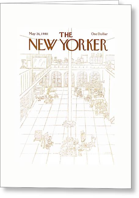 New Yorker May 26th, 1980 Greeting Card by Charles E. Martin